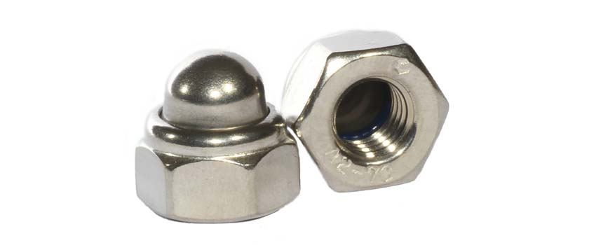 Dome Nuts manufacturers, suppliers, dealers in India