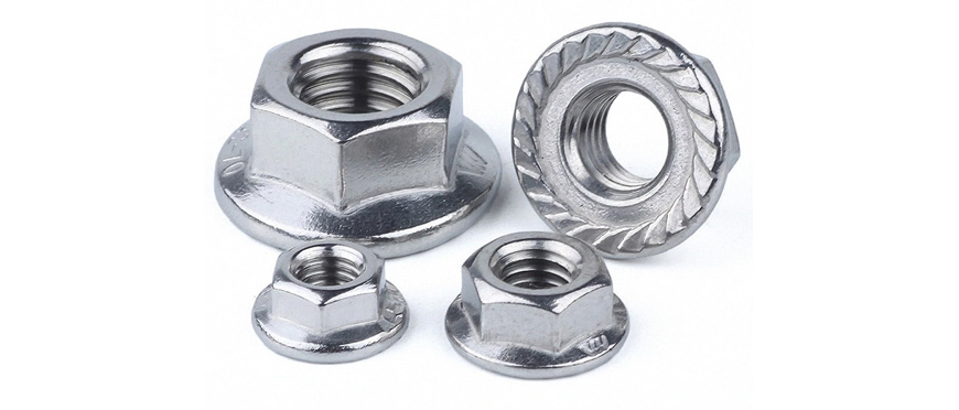 Stainless Steel Flange Nuts manufacturers, suppliers, dealers in India