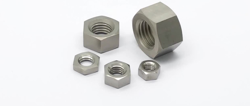 Titanium Hex Nuts manufacturers, suppliers, dealers in India
